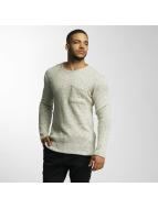 DEF Swetry Knit oliwkowy