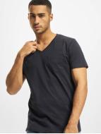 DEF t-shirt V-Neck blauw