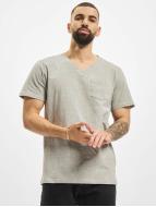 DEF t-shirt V-Neck grijs
