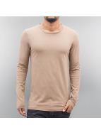DEF T-Shirt manches longues Uppsala beige