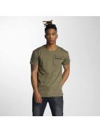 DEF T-shirt Leats oliv