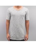 DEF T-shirts Drop grå