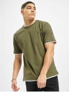DEF T-shirts Basic oliven