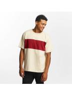 DEF T-Shirty Stripe bezowy
