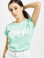 DEF T-Shirty Sizza turkusowy