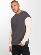DEF Kangaroo Sweatshirt Grey/Rose