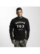 Defend Paris Пуловер CO черный