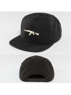 Defend Paris Golden  Snapback Cap Black