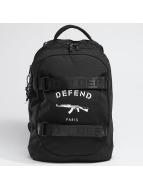 Defend Paris Rucksack Skate Bag schwarz