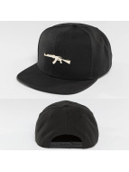 Defend Paris Snapback Cap Paris Golden schwarz