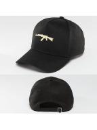Defend Paris Snapback Caps Golden czarny