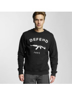 Defend Paris Swetry Lille czarny