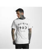 Defend Paris T-paidat Paris CO valkoinen