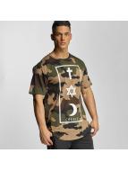 Defend Paris Georgia T-Shirt Camou/Tan