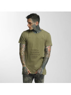 Defend Paris T-Shirt Business 3D khaki