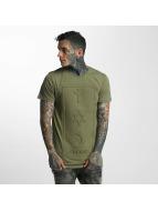 Defend Paris T-Shirty CO 3D khaki