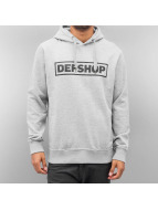 DefShop Hoody Logo grijs