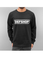 DefShop Pullover Logo noir