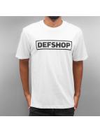 DefShop T-Shirts Logo beyaz