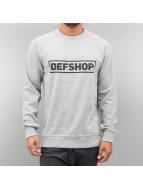 DefShop trui Logo grijs