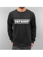 DefShop trui Logo zwart