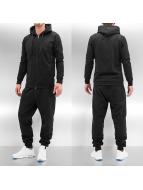 Dehash Anzug Basic schwarz