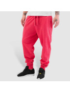 Dehash Blank Sweat Pants Red Melange