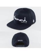 Diamond Casquette Snapback & Strapback OG Script bleu