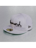 Diamond Fitted Cap OG Script New Era grau