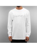 Diamond Pitkähihaiset paidat A16DPC valkoinen