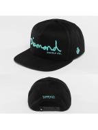 Diamond Snapback Cap OG Script black
