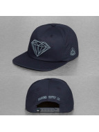 Diamond snapback cap Brilliant blauw