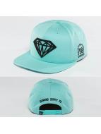 Diamond snapback cap Brilliant blauw