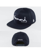 Diamond Snapback Cap OG Script blu