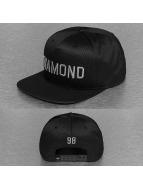 Diamond snapback cap Jackson zwart