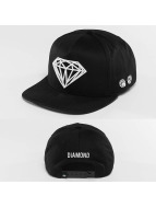 Diamond Snapback Caps Brilliant musta