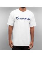 Diamond T-shirt OG Script bianco
