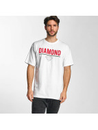 Diamond T-shirt Strike bianco