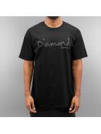 Diamond T-Shirt Tonal OG Script black