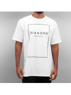 Diamond T-Shirt Boxed In blanc
