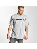 Diamond T-shirt OG Script grigio