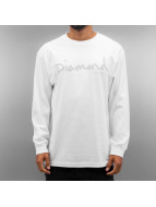 Diamond T-Shirt manches longues A16DPC blanc
