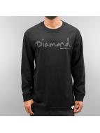 Diamond T-Shirt manches longues Tonal OG Script noir