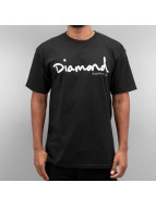 Diamond T-shirt OG Script nero