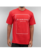 Diamond T-shirt Boxed In rosso