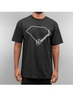 Diamond T-Shirt Linear Script schwarz