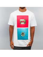 Diamond T-Shirt Emerald Square white
