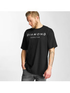 Diamond t-shirt Diamond Stone Cut zwart