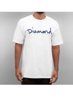 Diamond T-Shirts OG Script beyaz