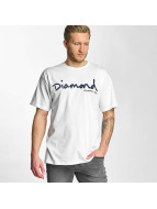 Diamond T-Shirty OG Script bialy